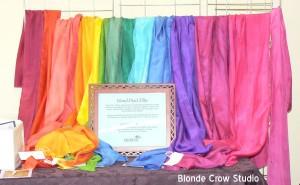 BCS Silk Scarves at the NWAGS, November 2012