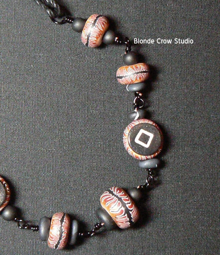 Tiger rune beads