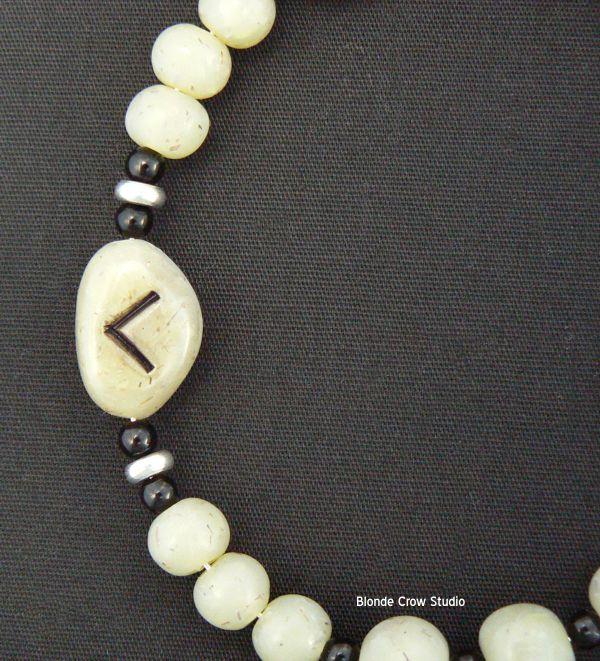 MJB dillstone rune beads