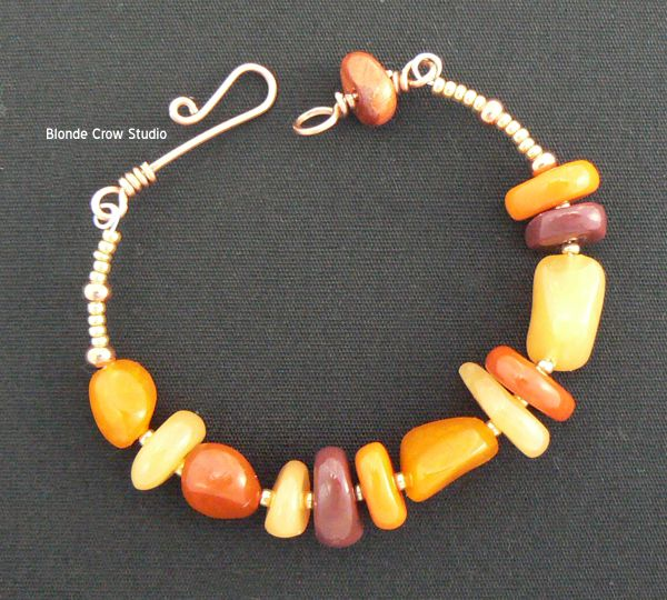 MJB simple autumn bracelet