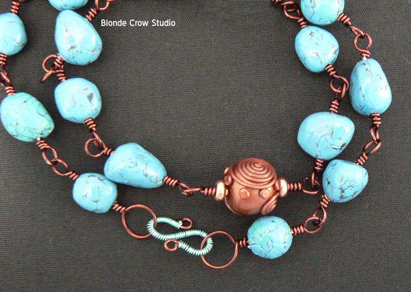 MJB turquoise bracelet