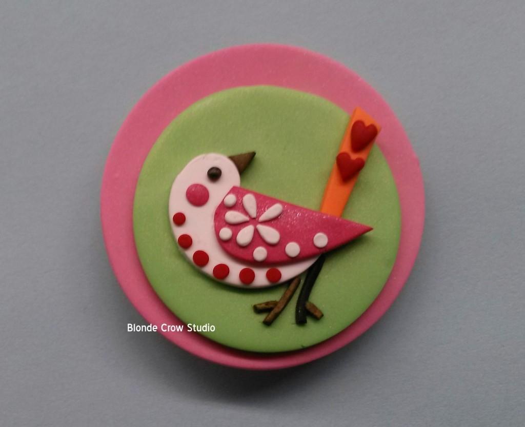 BCS- Spring Bird Pin
