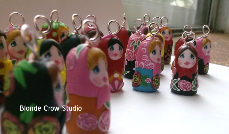 BCS- Matryoshka Doll Charms 01