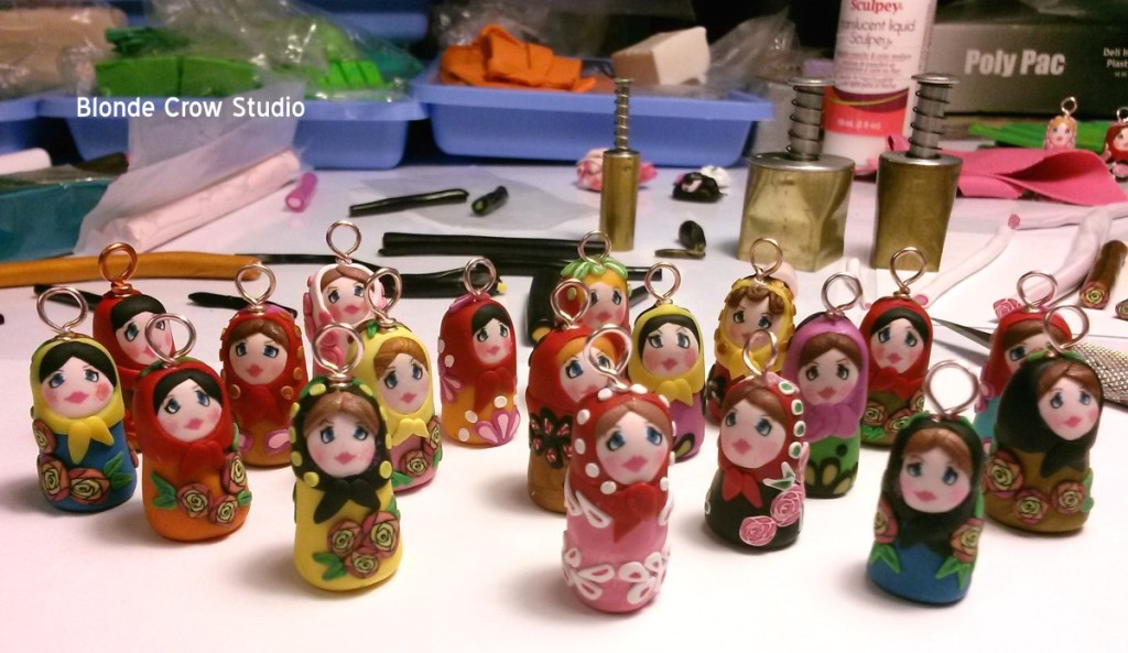 BCS- Matryoshka Doll Charms 02